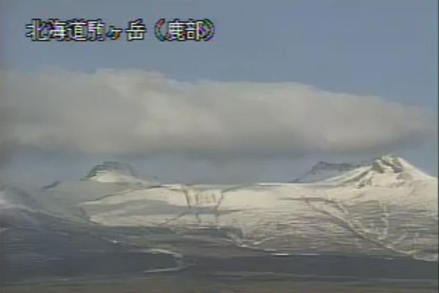 鹿部公園南東から北海道駒ヶ岳