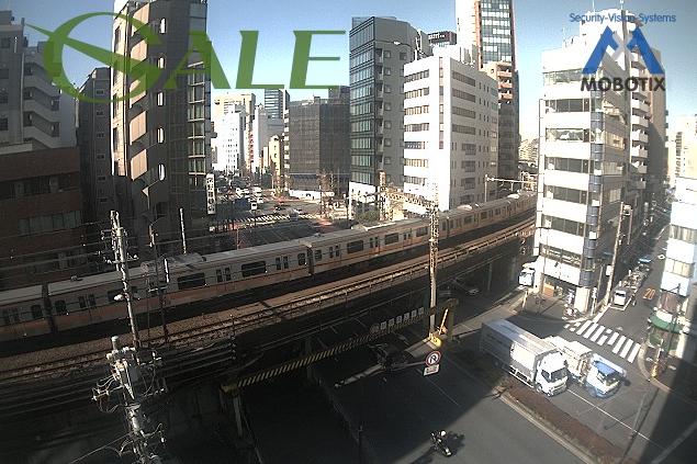 ゲイル本社からJR中央線・靖国通り