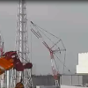 福島第一原子力発電所4号機側ライブカメラ(福島県大熊町夫沢)