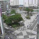 JR新宿駅東口方面ライブカメラ(東京都新宿区新宿)