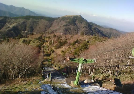 剣山登山リフト西島駅から剣山