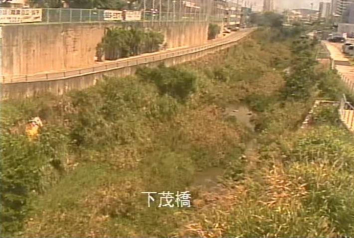 下茂橋から国場川