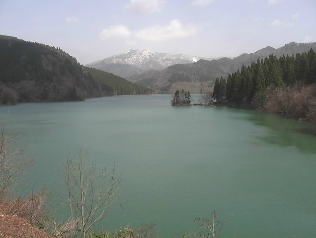 素波里ダム周辺からダム湖・白神山地周辺・素波里園地・桜