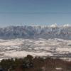 長峰山頂北アルプスライブカメラ(長野県安曇野市明科光)
