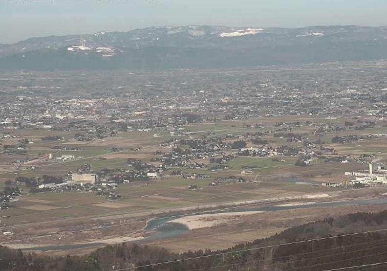 鉢伏山ライブカメラ(富山県砺波市庄川町)