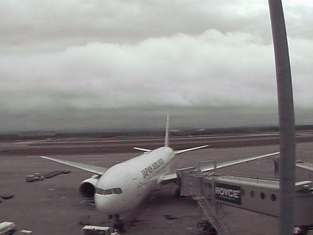 新千歳空港駐機場