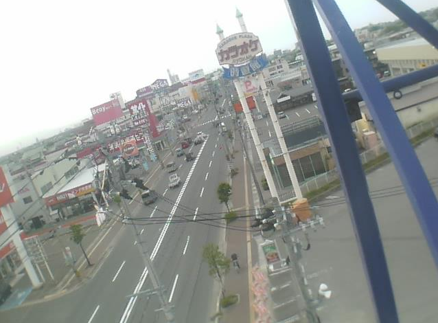 観光通り浜田付近