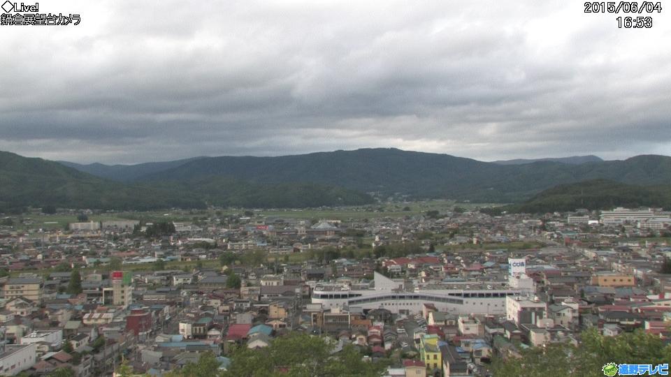 鍋倉山展望台