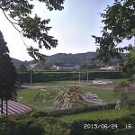 米沢市田んぼアートライブカメラ(山形県米沢市簗沢)
