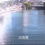 安里川泊高橋ライブカメラ(沖縄県那覇市泊)