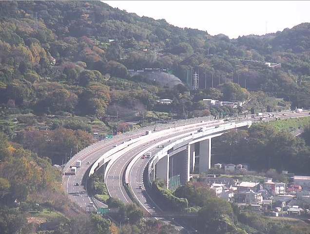 松田山から東名高速