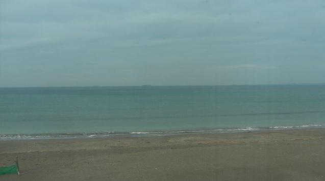 岩井海岸中央監視所から岩井海岸