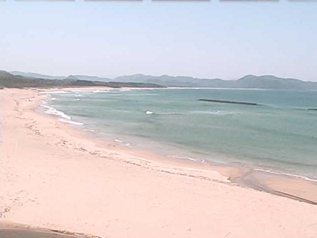 浜詰ビーチサイドブースから浜詰海水浴場・浜詰海岸