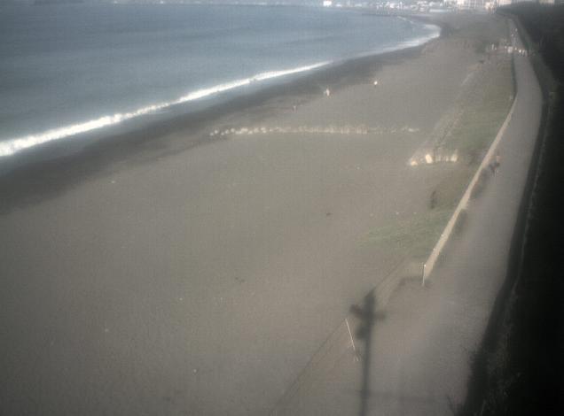 茅ヶ崎海岸からサザンビーチちがさきが見えるライブカメラ。