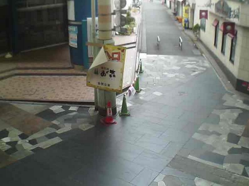 オリオン通り商店街第1ライブカメラ(栃木県宇都宮市曲師町)