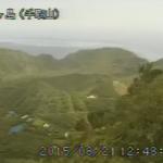 青ヶ島手取山ライブカメラ(東京都青ヶ島村)