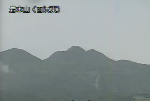 百沢東から岩木山