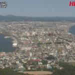 HBC函館ライブカメラ(北海道函館市函館山)