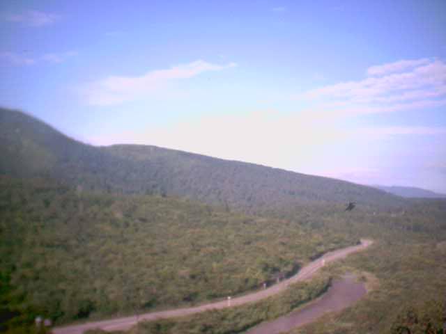 栗駒山荘から栗駒山
