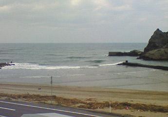 川夏釣具店から浜坂海岸