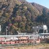 黒部峡谷トロッコ電車ライブカメラ(富山県黒部市宇奈月温泉)