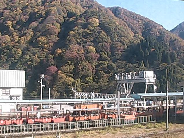 フィール宇奈月から黒部峡谷トロッコ電車