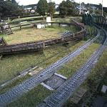 日本庭園鉄道5インチゲージライブカメラ(静岡県裾野市今里)