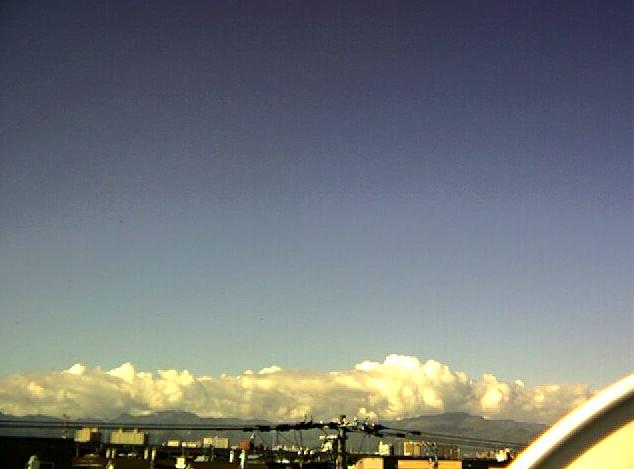 共立航空撮影札幌営業所から手稲山方向