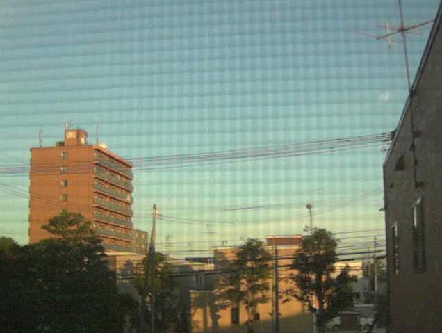 共立航空撮影札幌営業所から丘珠空港方向