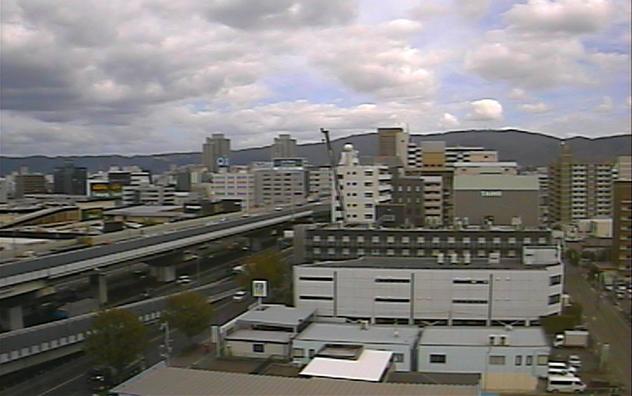 阪神高速道路東大阪線・東大阪市役所・生駒山