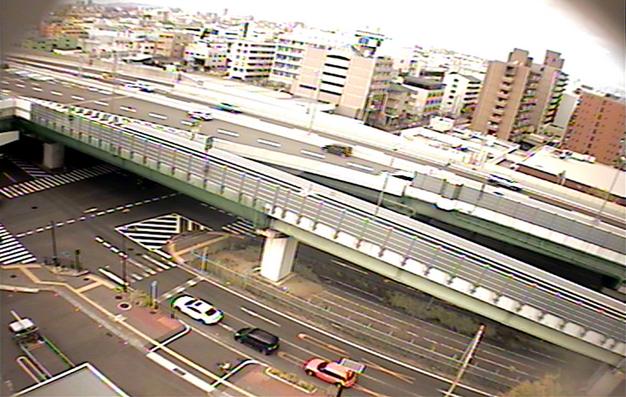 阪神高速道路東大阪線長田料金所付