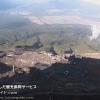 富士山8合目登山道ライブカメラ(山梨県富士吉田市上吉田)