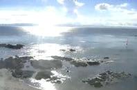 鹿屋体育大学海洋スポーツセンターから鹿児島湾