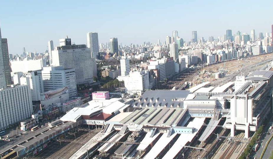 キヤノンマーケティングジャパン本社から品川駅(山手線・京急本線・横須賀線)