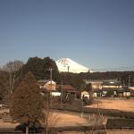 日本庭園鉄道富士山ライブカメラ(静岡県裾野市今里)