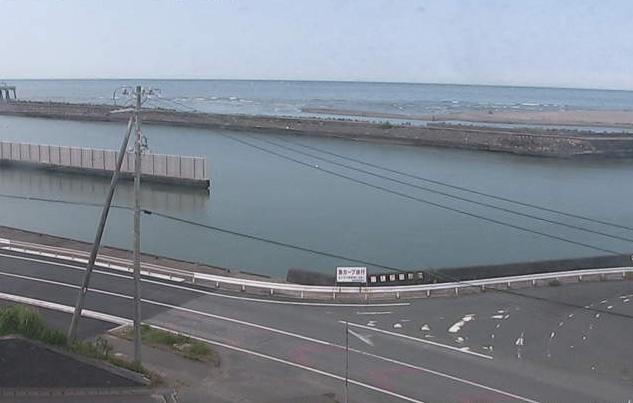 福田漁港が見えるライブカメラ。