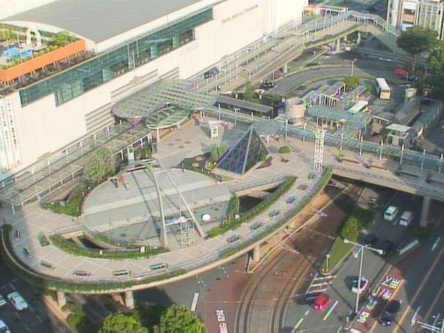 ココラフロントから豊橋駅前付近