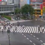 渋谷スクランブル交差点ライブカメラ(東京都渋谷区道玄坂) ver.YouTube