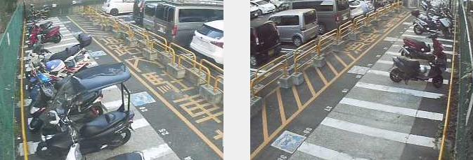 万世橋駐車場オートバイスペース