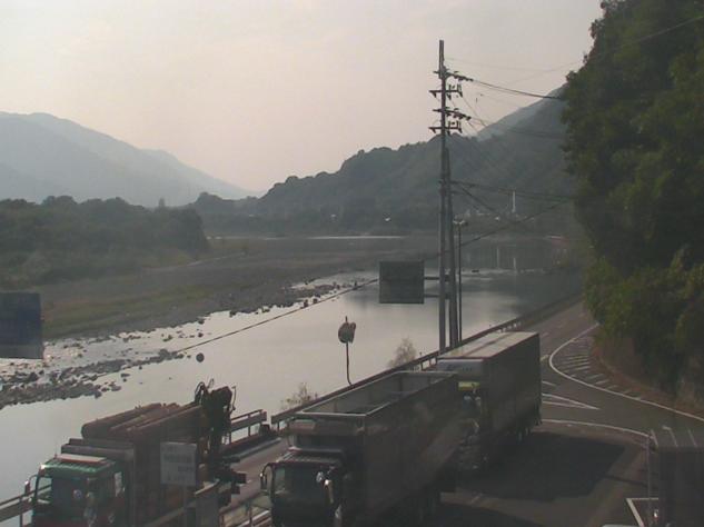道の駅三野から吉野川上流方面