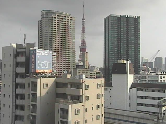 NTTラーニングシステムズ本社ビル屋上から東京タワー