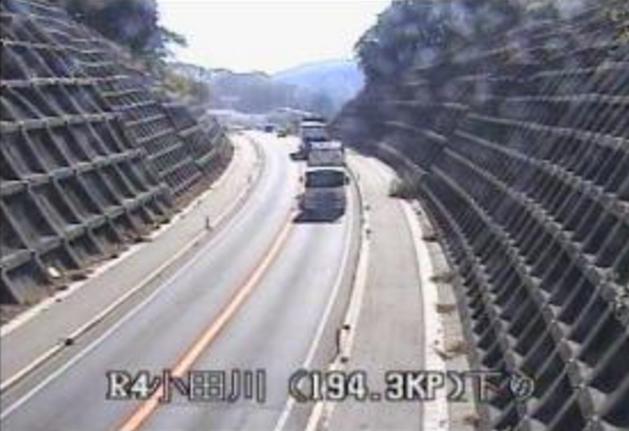 小田川から国道4号