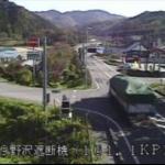 国道49号西会津野沢ライブカメラ(福島県西会津町野沢)