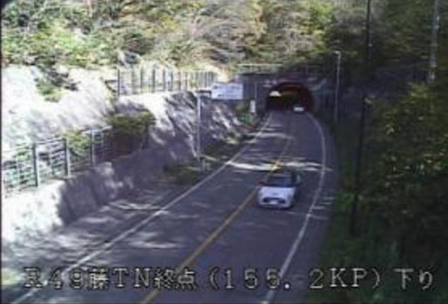 藤トンネル終点から国道49号