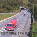 国道49号七折峠トンネル終点ライブカメラ(福島県会津坂下町坂本)