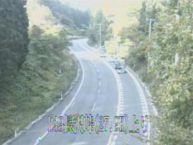 長沢峠から国道49号
