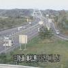 三陸自動車道鳴瀬奥松島インターチェンジライブカメラ(宮城県東松島市川下)