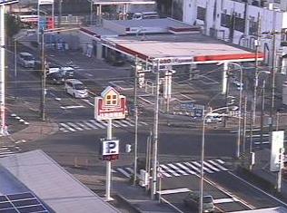 小田原市消防本部から巡礼街道(打越跨線橋入口交差点)