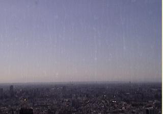 東京都庁舎31階から富士山