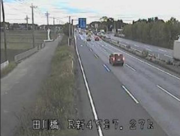 田川橋から国道4号バイパス